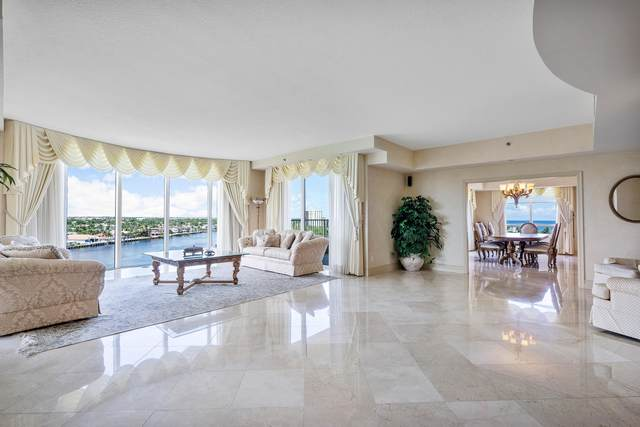 3720 S Ocean Boulevard 807/808, Highland Beach, FL 33487 (#RX-10746594) :: IvaniaHomes | Keller Williams Reserve Palm Beach