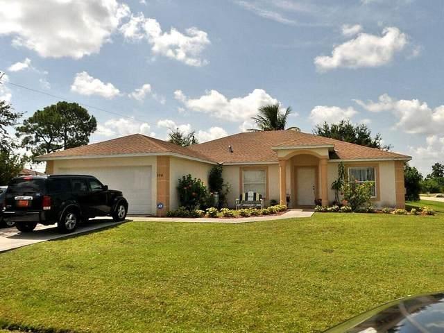 598 SW Twig Avenue, Port Saint Lucie, FL 34953 (#RX-10750306) :: Heather Towe | Keller Williams Jupiter