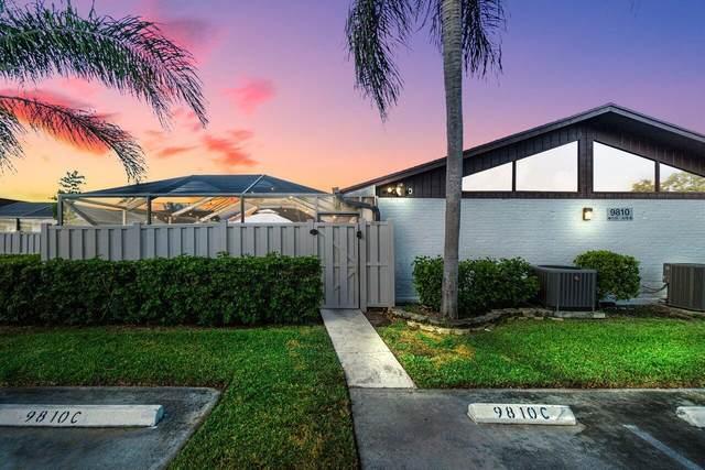 9810 Boca Gardens Parkway C, Boca Raton, FL 33496 (#RX-10750333) :: DO Homes Group