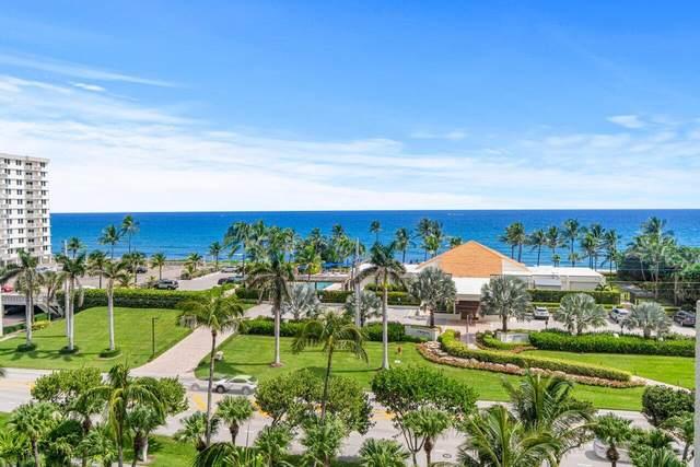 3400 S Ocean Boulevard 7C, Highland Beach, FL 33487 (#RX-10750975) :: Posh Properties