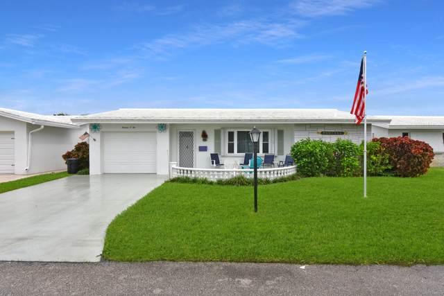1302 SW 20th Street, Boynton Beach, FL 33426 (#RX-10751637) :: Michael Kaufman Real Estate