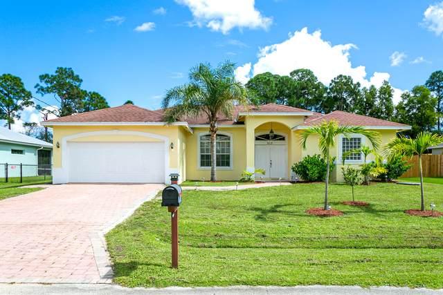 3621 SW Europe Street, Port Saint Lucie, FL 34953 (#RX-10752294) :: Posh Properties