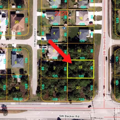 4582 SW Savona Boulevard, Port Saint Lucie, FL 34953 (MLS #RX-10753397) :: Castelli Real Estate Services