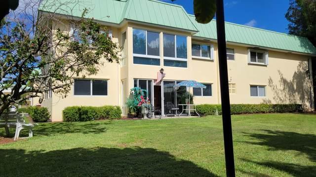 33 Colonial Club Drive #105, Boynton Beach, FL 33435 (#RX-10753490) :: The Rizzuto Woodman Team