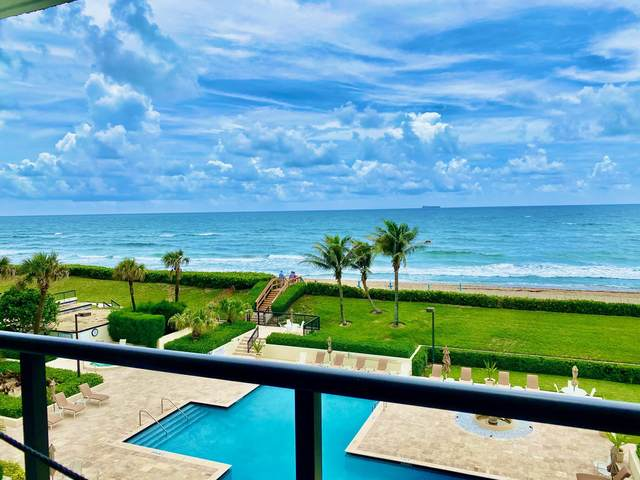 3440 S Ocean Boulevard 302 S, Palm Beach, FL 33480 (MLS #RX-10753525) :: The DJ & Lindsey Team