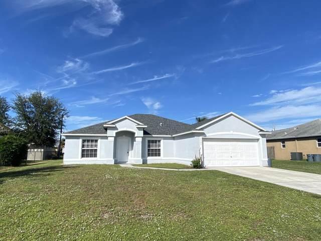 1125 SW Bellevue Avenue, Port Saint Lucie, FL 34953 (#RX-10754543) :: Baron Real Estate