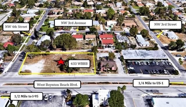 433 W Boynton Beach Boulevard, Boynton Beach, FL 33435 (#RX-10346537) :: IvaniaHomes | Keller Williams Reserve Palm Beach