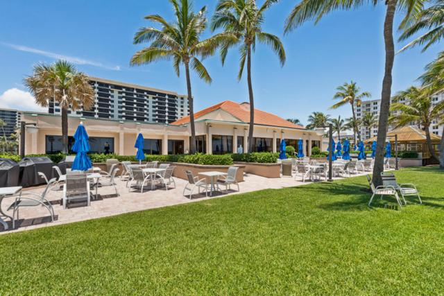 3400 S Ocean Boulevard 7L, Highland Beach, FL 33487 (#RX-10446900) :: Ryan Jennings Group