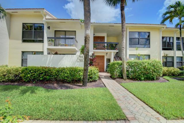 6826 Willow Wood Drive #704, Boca Raton, FL 33434 (#RX-10449126) :: Ryan Jennings Group