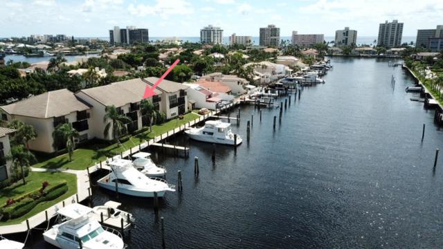 300 Captains Walk #114, Delray Beach, FL 33483 (MLS #RX-10450332) :: EWM Realty International