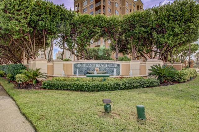 3606 S Ocean Boulevard #707, Highland Beach, FL 33487 (MLS #RX-10479268) :: Berkshire Hathaway HomeServices EWM Realty