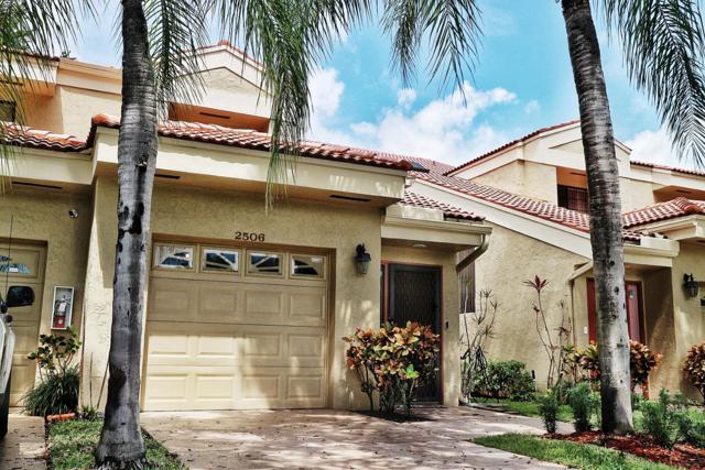 2506 Aspen Way, Boynton Beach, FL 33436 (MLS #RX-10526367) :: EWM Realty International