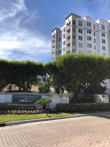 3594 S Ocean Boulevard #307, Highland Beach, FL 33487 (#RX-10530792) :: Ryan Jennings Group