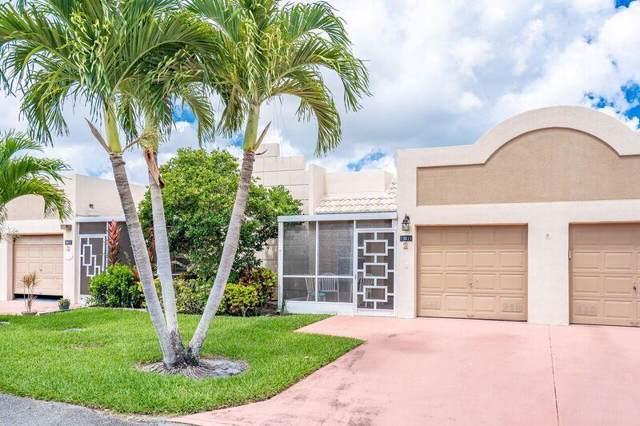 18871 Stewart Circle #2, Boca Raton, FL 33496 (MLS #RX-10531628) :: Berkshire Hathaway HomeServices EWM Realty