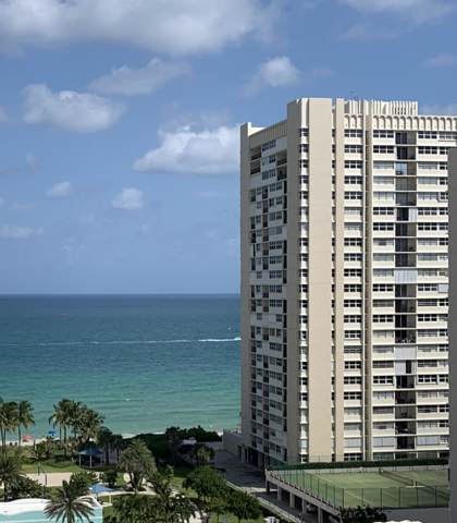 1865 S Ocean Drive 14G, Hallandale, FL 33009 (MLS #RX-10560264) :: Berkshire Hathaway HomeServices EWM Realty