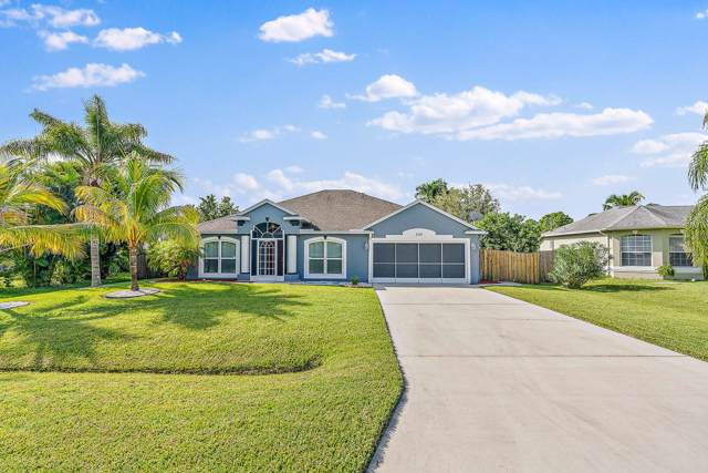534 SW Fairway Avenue, Port Saint Lucie, FL 34983 (#RX-10565667) :: Ryan Jennings Group