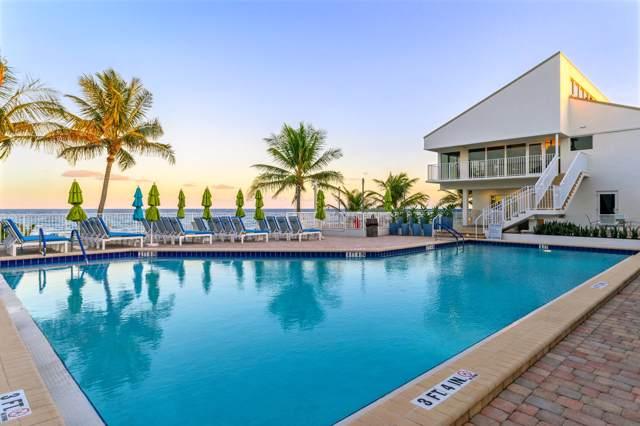 4746 S Ocean Boulevard #10, Highland Beach, FL 33487 (#RX-10574692) :: Ryan Jennings Group
