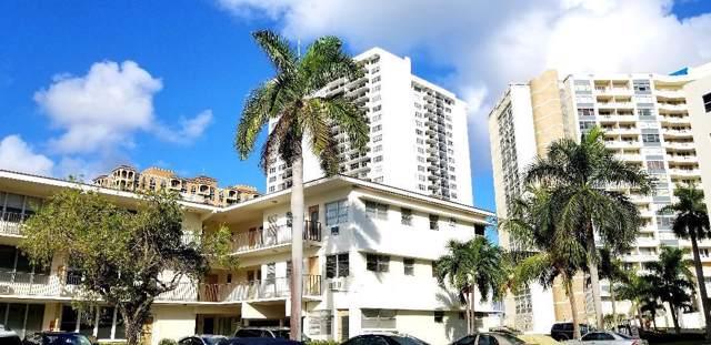 3177 S Ocean Drive #302, Hallandale Beach, FL 33009 (MLS #RX-10576706) :: Castelli Real Estate Services