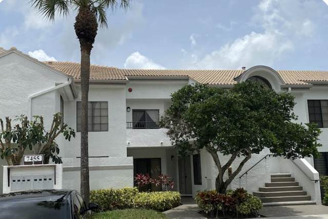7455 Glendevon Lane #202, Delray Beach, FL 33446 (#RX-10591356) :: The Rizzuto Woodman Team