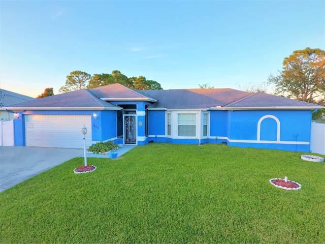317 SW Duxbury Avenue, Port Saint Lucie, FL 34983 (#RX-10592554) :: Ryan Jennings Group