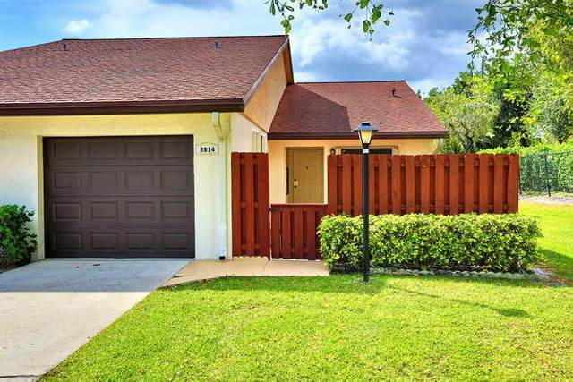 3814 Silver Lace Lane, Boynton Beach, FL 33436 (#RX-10608423) :: Ryan Jennings Group