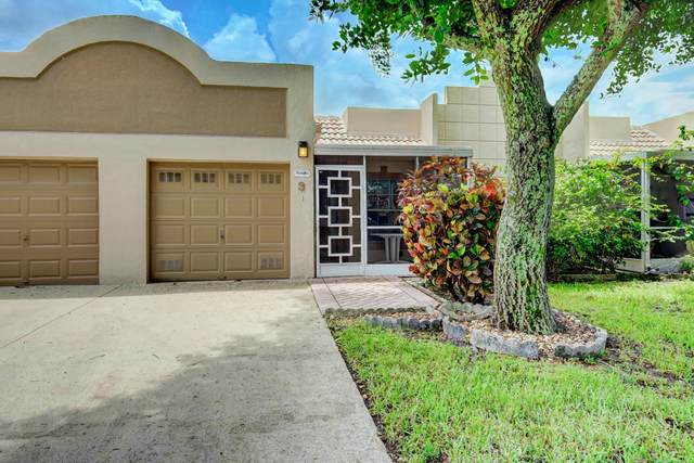 18900 Stewart Circle #3, Boca Raton, FL 33496 (MLS #RX-10610869) :: Berkshire Hathaway HomeServices EWM Realty