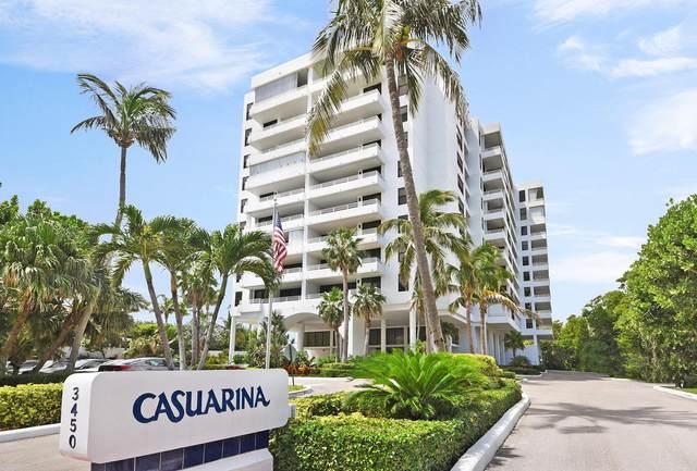 3450 S Ocean Boulevard #303, Highland Beach, FL 33487 (#RX-10627888) :: Real Estate Authority
