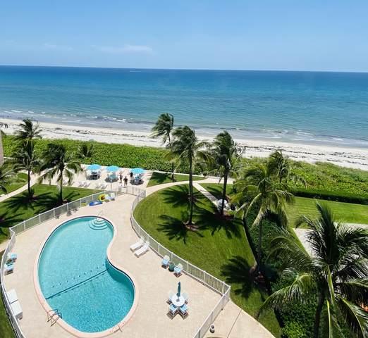 2921 S Ocean Boulevard #701, Highland Beach, FL 33487 (#RX-10636018) :: The Rizzuto Woodman Team