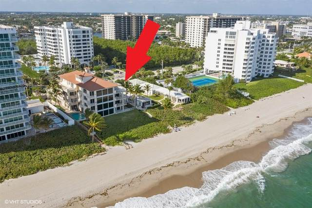 3421 S Ocean Boulevard, Highland Beach, FL 33487 (MLS #RX-10636092) :: The Paiz Group