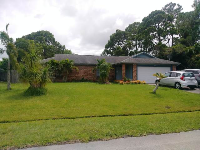 986 SW Eureka Avenue SW, Port Saint Lucie, FL 34953 (MLS #RX-10638433) :: THE BANNON GROUP at RE/MAX CONSULTANTS REALTY I
