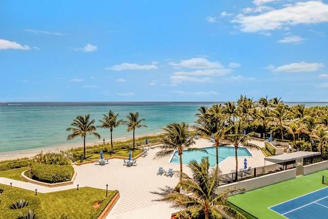 5200 N Ocean Drive #406, Singer Island, FL 33404 (#RX-10638766) :: Posh Properties