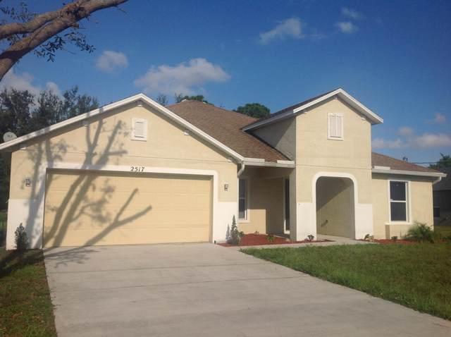 2517 SW Cooper Lane, Port Saint Lucie, FL 34953 (MLS #RX-10645776) :: Berkshire Hathaway HomeServices EWM Realty