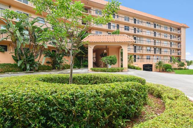 2871 N Ocean Boulevard V553, Boca Raton, FL 33431 (MLS #RX-10658744) :: Berkshire Hathaway HomeServices EWM Realty