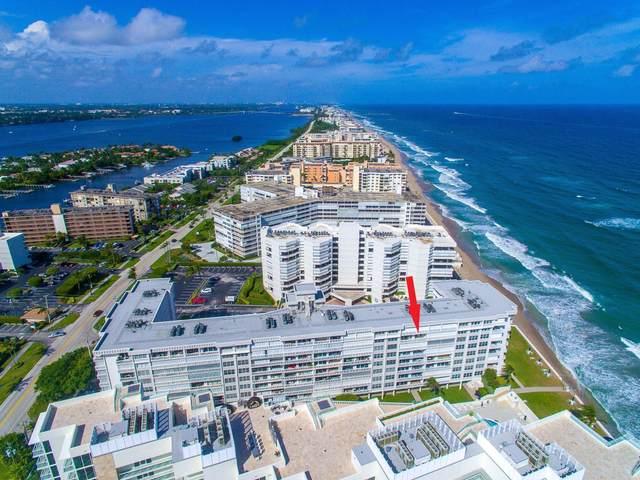3570 S Ocean Boulevard #803, South Palm Beach, FL 33480 (#RX-10659345) :: Posh Properties