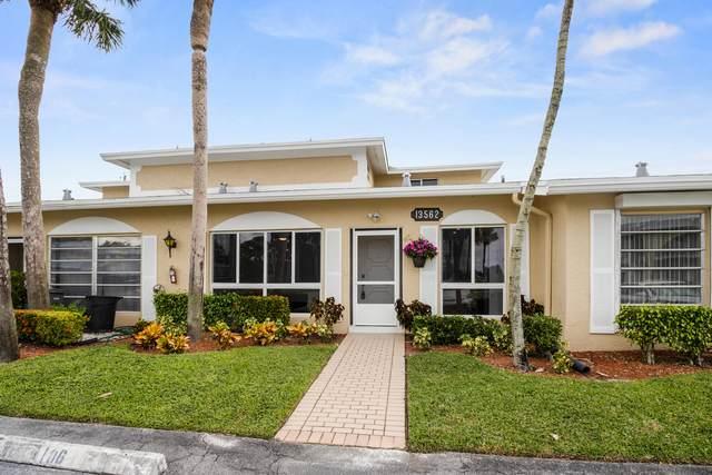 13562 Via Flora C, Delray Beach, FL 33484 (MLS #RX-10664263) :: Berkshire Hathaway HomeServices EWM Realty