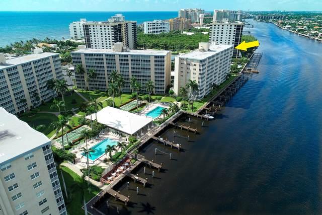3310 S Ocean Boulevard 1032-D, Highland Beach, FL 33487 (MLS #RX-10668781) :: Castelli Real Estate Services