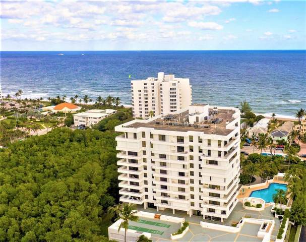 3450 S Ocean Boulevard #306, Highland Beach, FL 33487 (#RX-10669004) :: Posh Properties