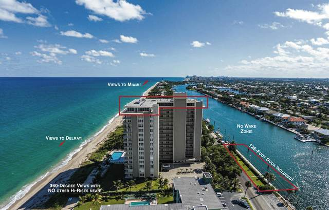 1021 Hillsboro Mile Roof Garden Pen, Hillsboro Beach, FL 33062 (#RX-10673813) :: Signature International Real Estate
