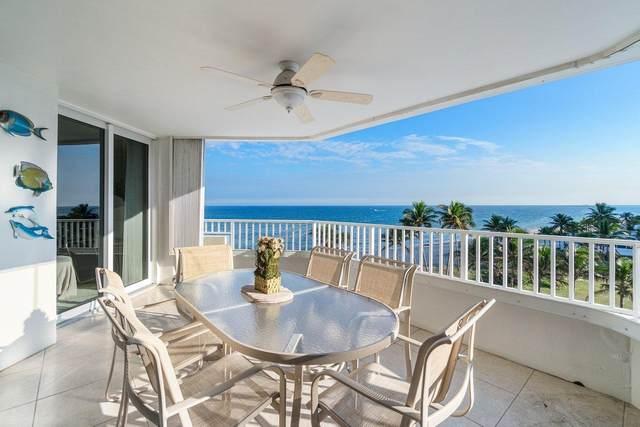 1340 S Ocean Boulevard #504, Pompano Beach, FL 33062 (#RX-10679578) :: Signature International Real Estate