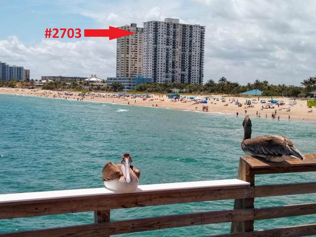 111 Briny Avenue #2703, Pompano Beach, FL 33062 (#RX-10691625) :: The Rizzuto Woodman Team