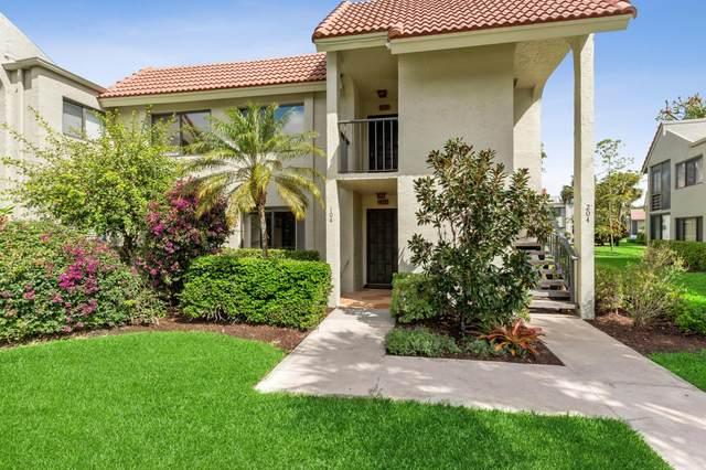5550 Fairway Park Drive #104, Boynton Beach, FL 33437 (MLS #RX-10702860) :: The Jack Coden Group