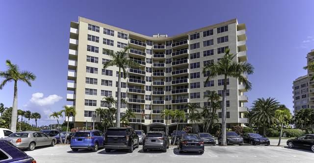 2800 N Flagler Drive #814, West Palm Beach, FL 33407 (#RX-10703703) :: Posh Properties