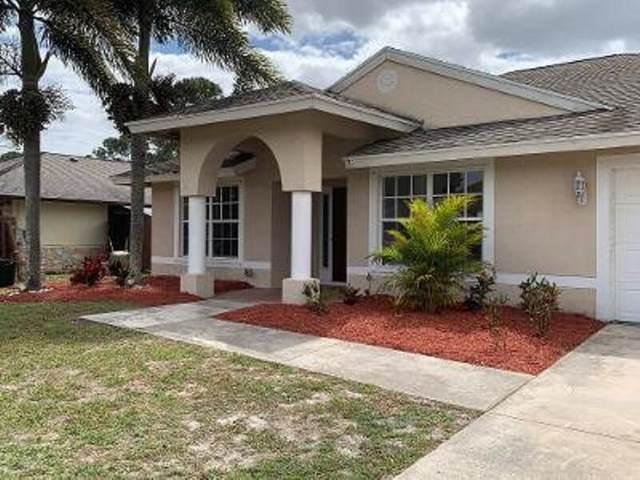 1334 SW Bartell Avenue, Port Saint Lucie, FL 34953 (MLS #RX-10705017) :: The Paiz Group