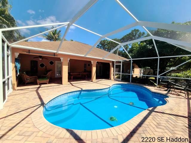 2220 SE Haddon Street, Port Saint Lucie, FL 34984 (MLS #RX-10705176) :: The Jack Coden Group