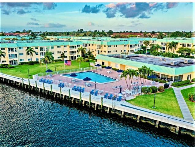22 Colonial Club Drive #201, Boynton Beach, FL 33435 (#RX-10708314) :: Ryan Jennings Group