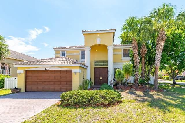 2211 Sloane Place, Wellington, FL 33414 (#RX-10716871) :: Michael Kaufman Real Estate