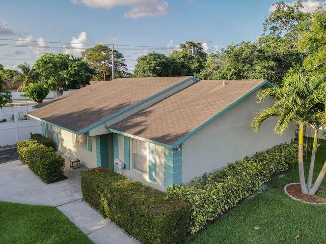 801 E Chatelaine Boulevard, Delray Beach, FL 33445 (#RX-10720739) :: Michael Kaufman Real Estate