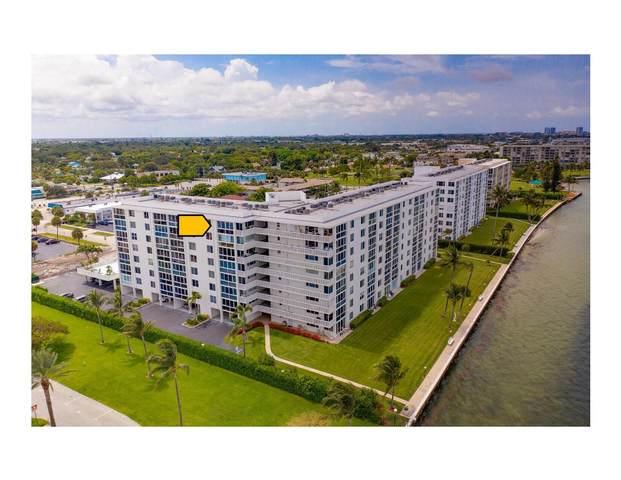 301 Lake Shore Drive #708, Lake Park, FL 33403 (#RX-10727857) :: Dalton Wade