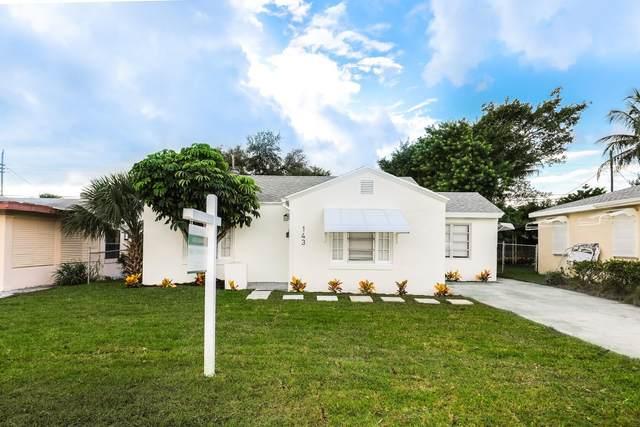 143 E 24th Street, Riviera Beach, FL 33404 (#RX-10751573) :: Heather Towe | Keller Williams Jupiter
