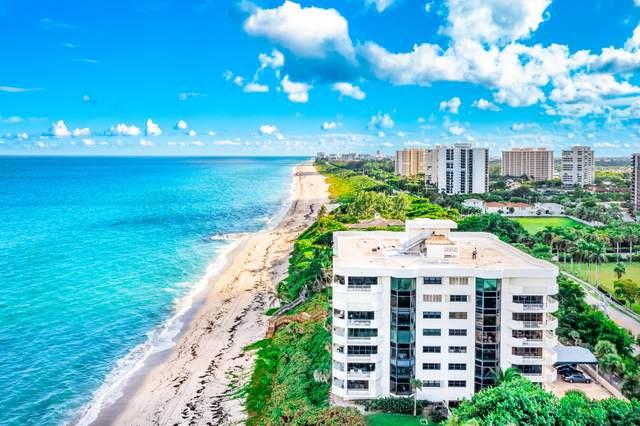 4605 S Ocean Boulevard 4C, Highland Beach, FL 33487 (#RX-10751950) :: Posh Properties